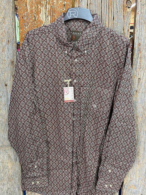 Men's Roper Button up 0728