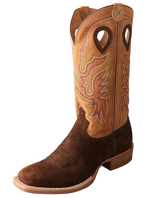 Men's Ruff Stock Boot – Tobac Hippo/Tan MRS0045