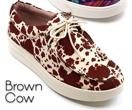 Brown Cow Slip On Bros