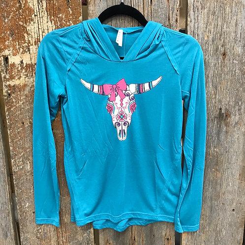 Girls Steer Hoodie Shirt