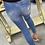 Thumbnail: Dark Wash High Rise Holy Skinny Jean