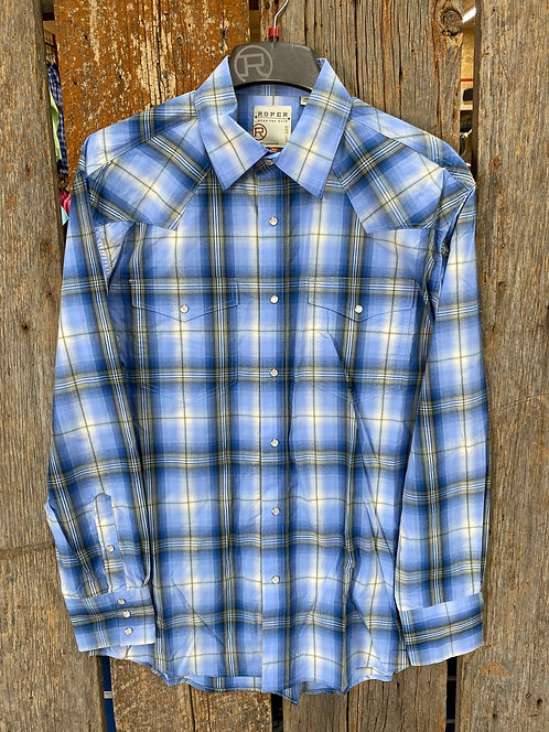 Men's Roper Button Up 1025