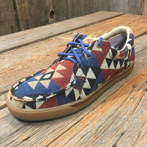 Women's Hooey Shoe – Graphic Pattern Canvas WHYC001