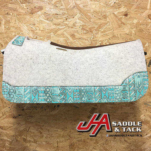 """5 Star 30""""x 30"""" - Light Turquoise Indiano"""