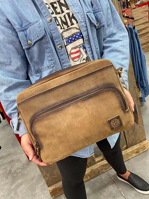 STS Teak medium laptop/ iPad bag