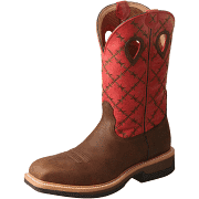 Men's Twisted X MLCA005 Lite Cowboy Alloy Toe Work Boot