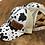Thumbnail: Race Ranch Black / White Cow- Ponytail Hat