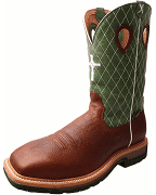Twisted X Men's Lime Lite Western Work Boots MLCSM01