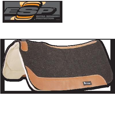 Classis Equine ESP Contour Pad - Felt Top