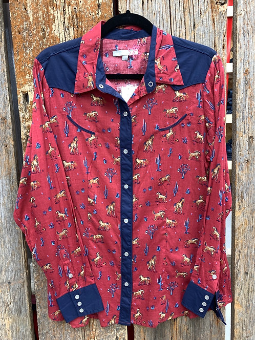 Tin Haul Western Button Down