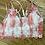 Thumbnail: Tie Dye Pink & White Lace Bralette Floral