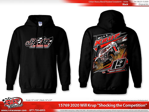 "JHA Motorsports - ""Shocking the Competition"" Hoodie"