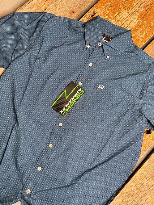Men's Cinch Arena Flex Short Sleeve Button Up 4065