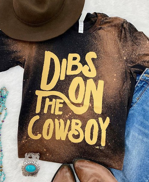 Bleached Dibs On The Cowboy - Graphic Tee