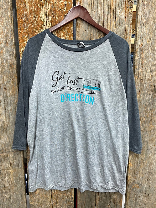 Get Lost In The Right Direction Tee