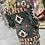 Thumbnail: Aztec Dark Green Slate Fringe Cardigan