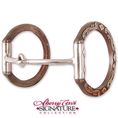 Diamond D Ring - Sherry Cervi Collection