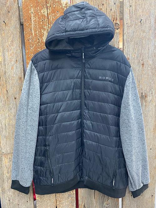 Roper Puffer Zip Up Jacket