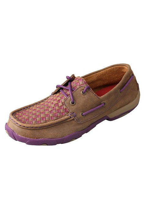Women's Driving Moccasins – Bomber/Purple WDM0025