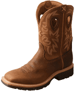 Twisted X Men's MSC0011 Cowboy Work Boot