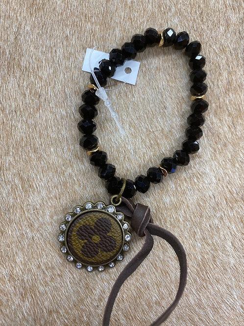 LV Black bracelet
