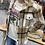 Thumbnail: Soft Button Down Tan Plaid Shirt Jacket