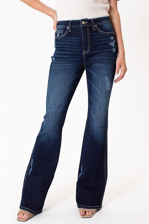 KanCan - High Rise Flare Jeans - KC7340D