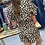Thumbnail: Leopard Button Down Romper with Pockets