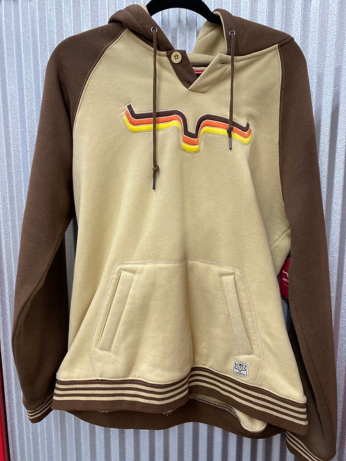 Kimes Ranch Tan with Brown Hoodie