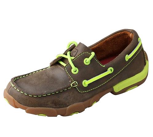Kid's Boat Shoe Driving Moc YDM0005