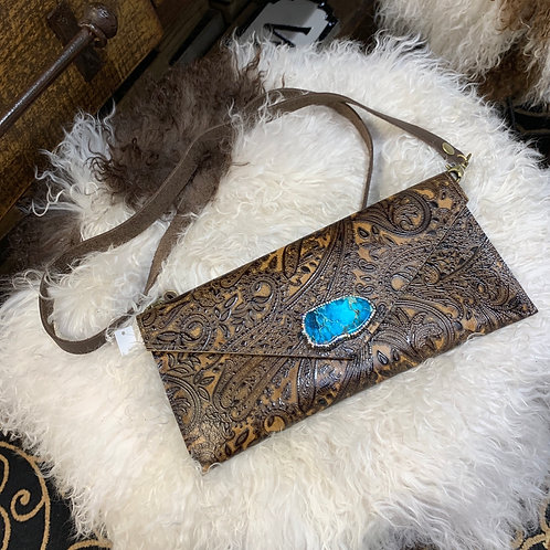 🖤 Turquoise pavè stone crossbody 🖤