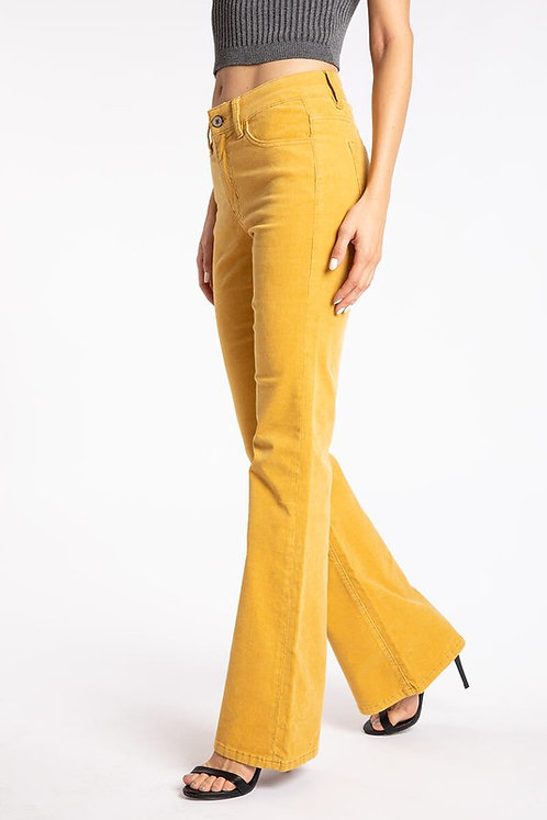 KanCan - High Rise Skinny Flare Jeans - KC6299YL