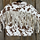 Thumbnail: Cow Printed Crop Fringe Jacket