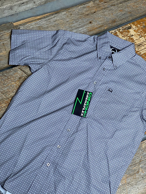 Men's Cinch Arena Flex Short Sleeve Button Up 4061