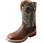 Twisted X Men's MLCAW01 Lite Weight Cowboy Work Boot
