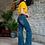 Thumbnail: L&B Mid Wash Trousers 9483
