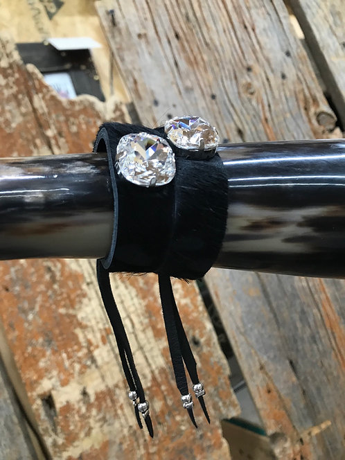 Black Diamond Fur Bracelet