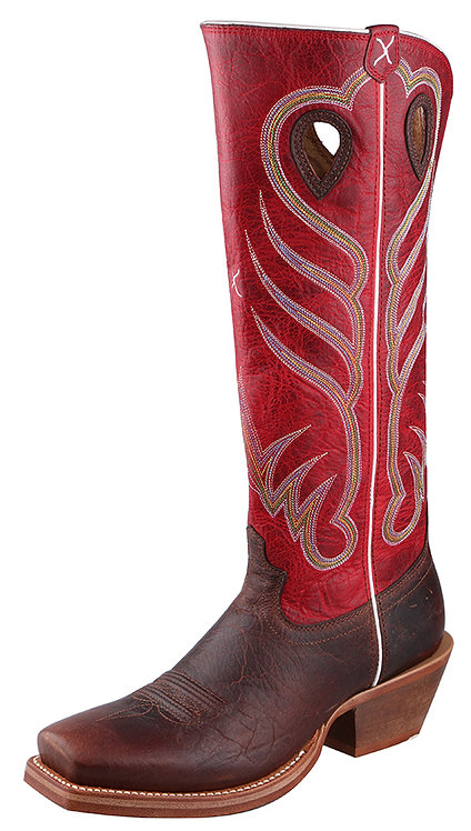 Men's Buckaroo Boot – Saddle/Red MBKL009