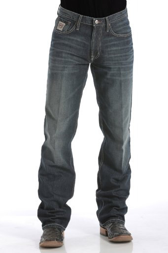 Cinch Mens - WHITE LABEL JEANS - DARK STONEWASH