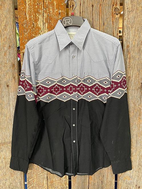 Men's Roper Button Up 0613