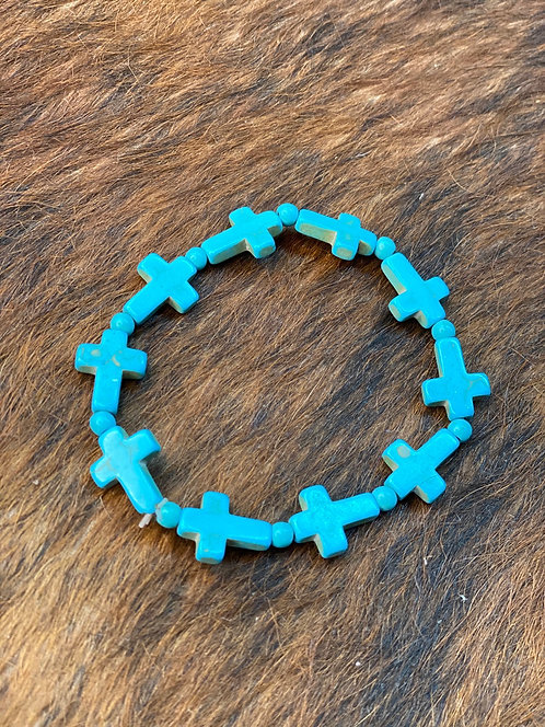Turquoise stretch Bracket