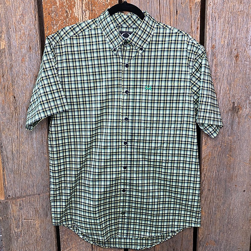 Men's Cinch Arena Flex Short Sleeve Button Up 4063