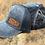 Thumbnail: Race Ranch Distressed Black / Black - Ponytail Hat