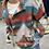 Thumbnail: Soft Button Down Sarape Aztec Shirt Jacket