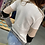Thumbnail: Neutral color block long sleeve with strip accent