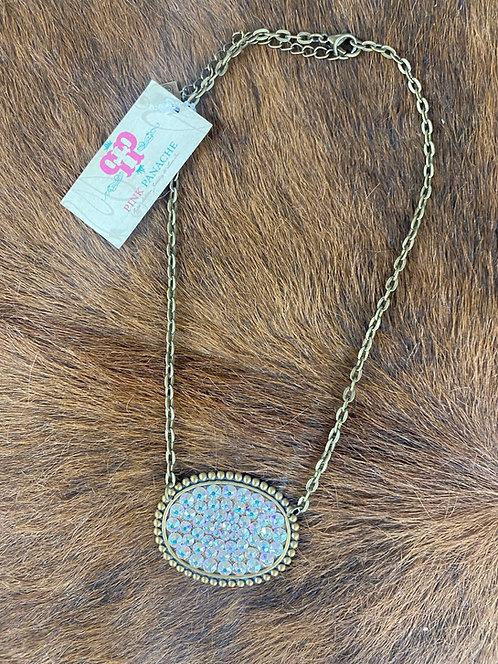 Pink Panache Diamond Necklace