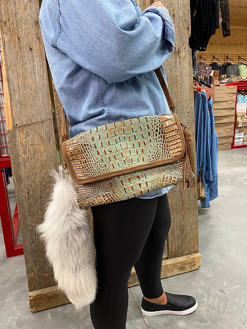Double J gator purse