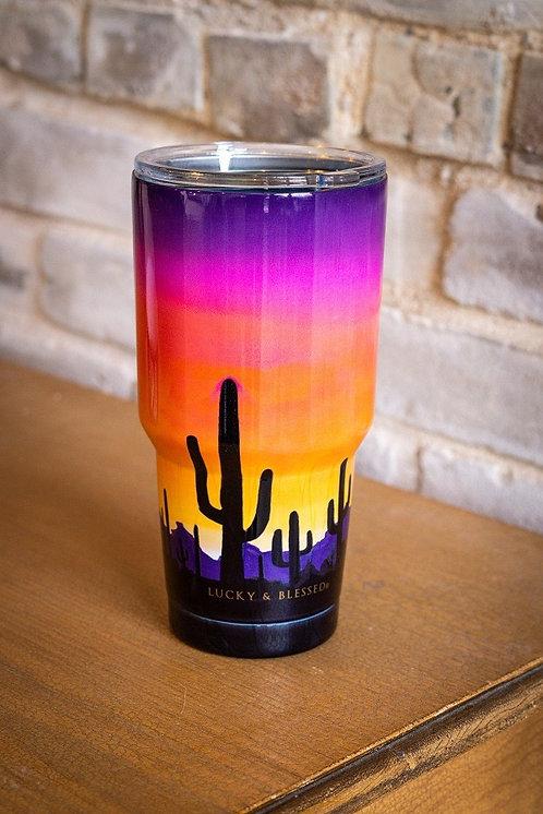 Desert Sunset Print - Tumbler