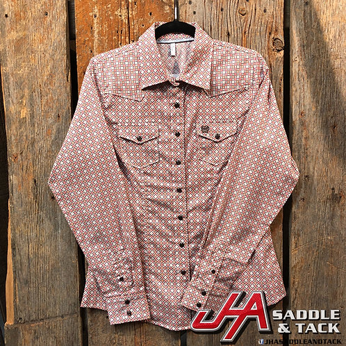 Cinch Ladies - Button Down Pearl snap Western 0027