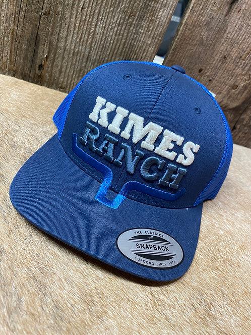 Blue Kimes Ranch Snap Back
